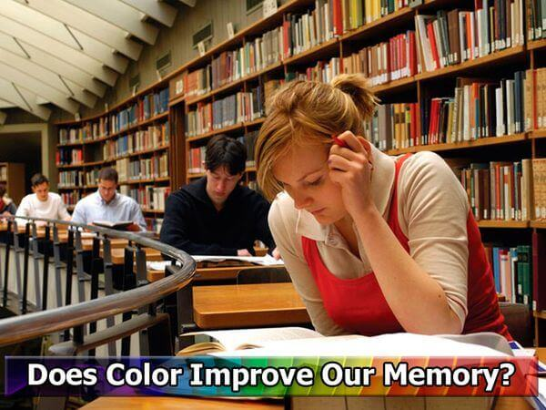 Does Color Improve Our Memory