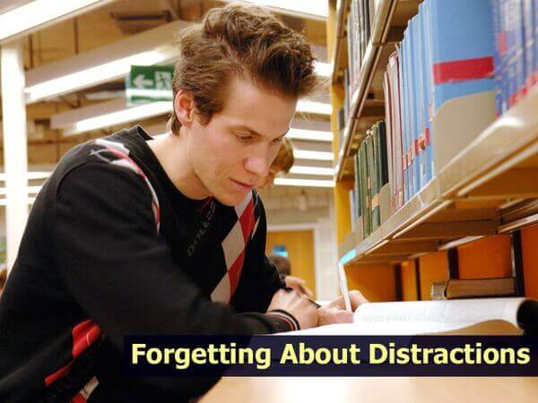 Forgetting about Distractions