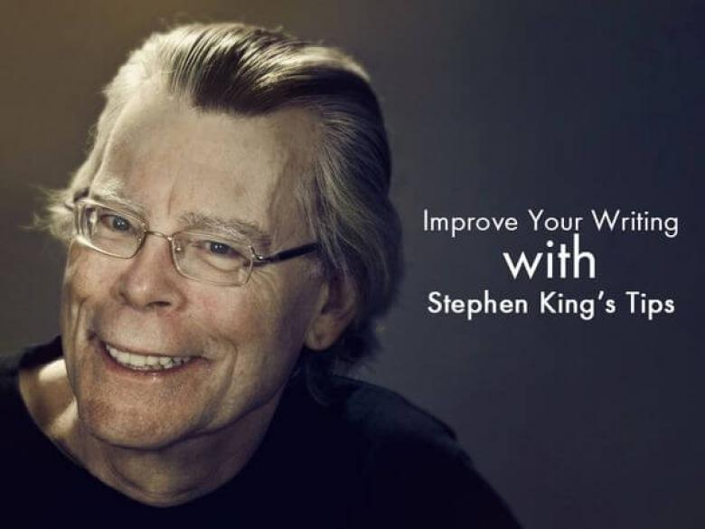 Improve Your Writing with Stephen King's Tips