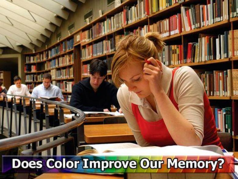 Does Color Improve Our Memory?